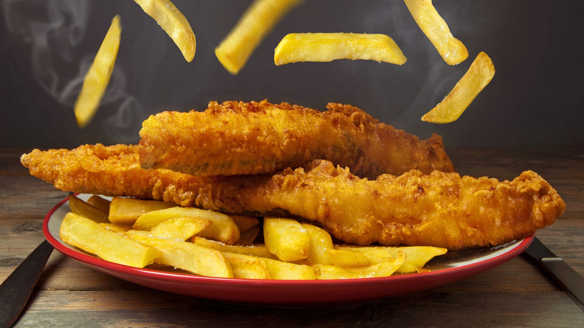 Marigolds restaurant take away quality fish chips for Fish chips